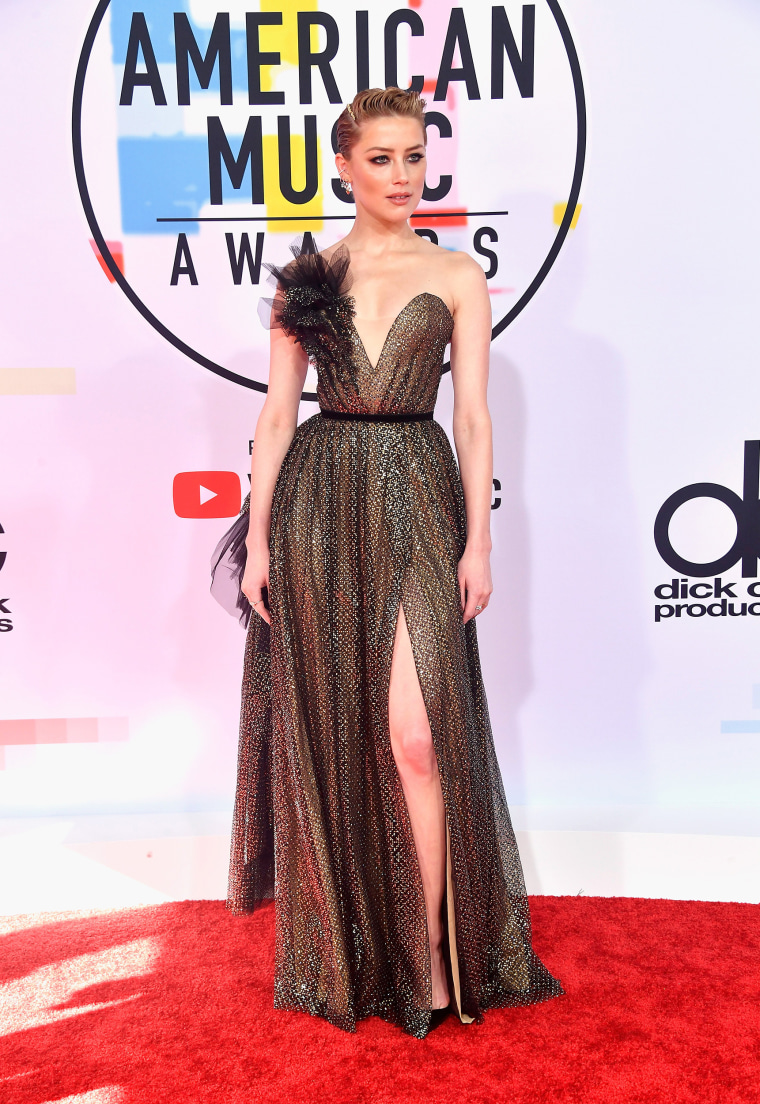 Amber Heard American Music Awards