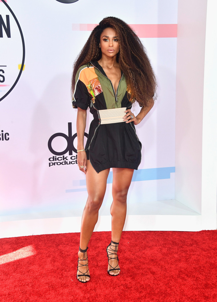 Ciara American Music Awards red carpet
