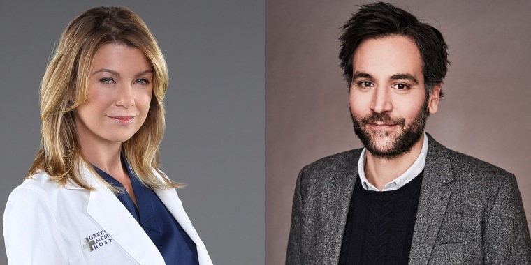 Ellen Pompeo and Josh Radner