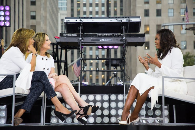 Michelle Obama's live interview