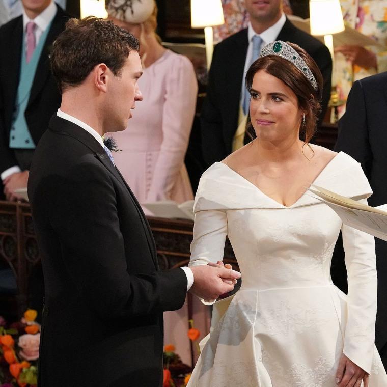 Image: BRITAIN-ROYALS-WEDDING-EUGENIE-CEREMONY