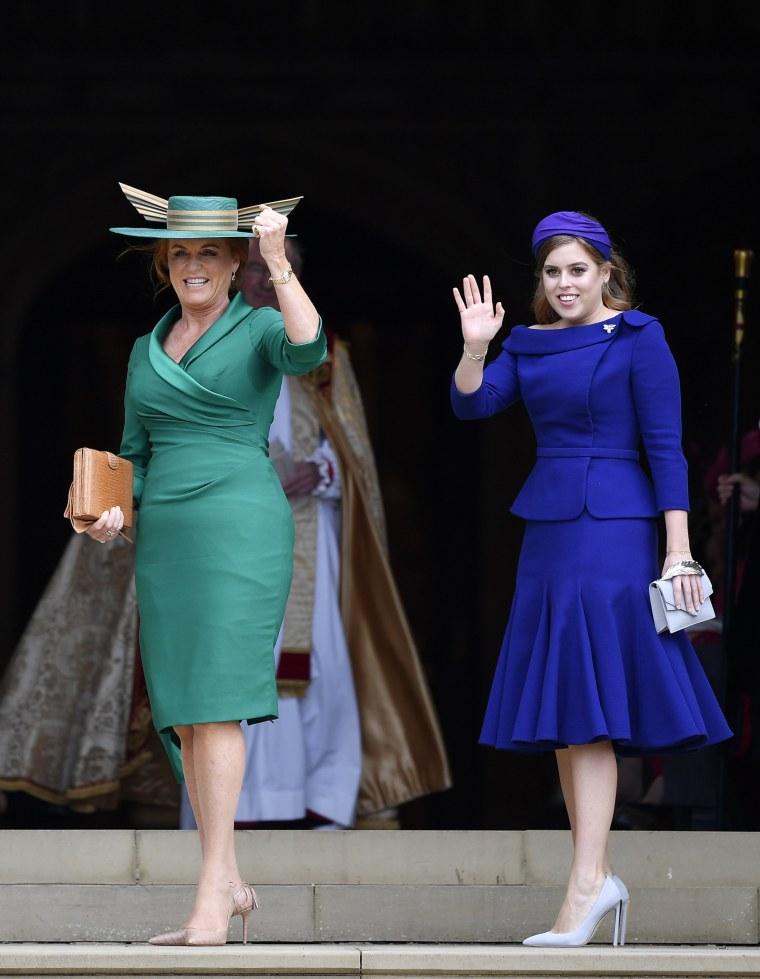 Image: Sarah Ferguson and Princess Beatrice