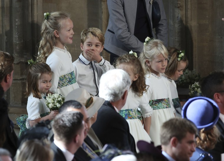 Image: Bridesmaids and page boys