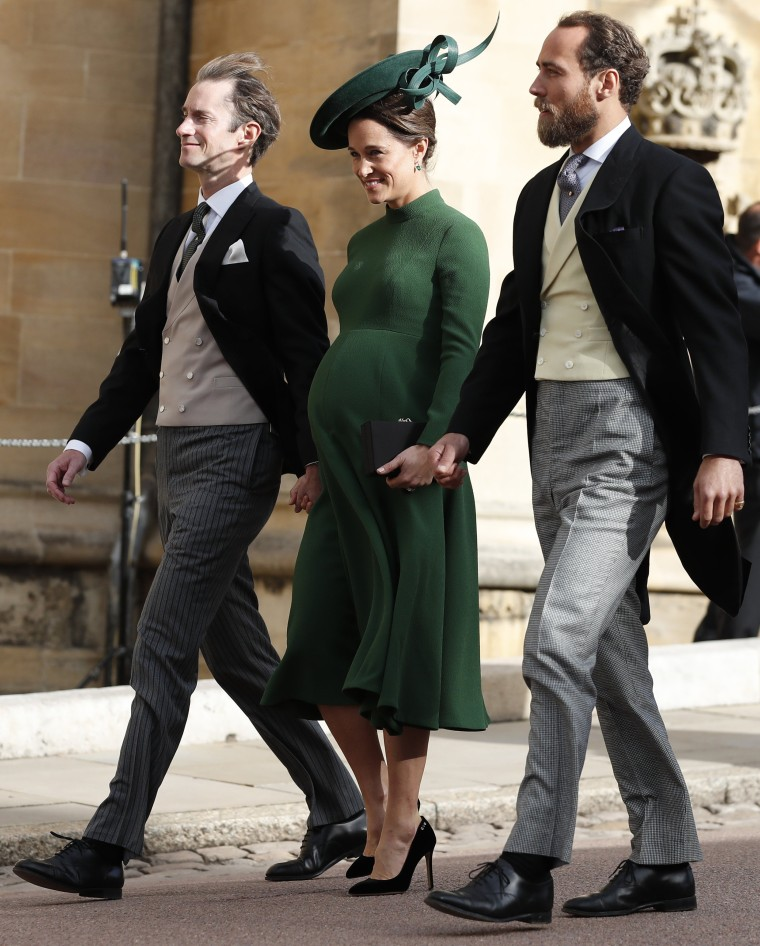 At The Royal Wedding Pippa Middleton S Dress: Pippa Middleton Gives Birth To Her 1st Child! Here's What
