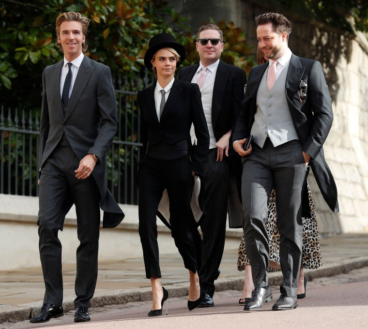 Princess Eugenie royal wedding guests included Demi Moore