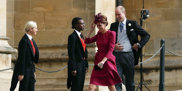 Former Kate Middleton, Princess Eugenie wedding
