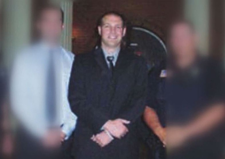 Officer Timothy Loehmann appears in an undated photo.