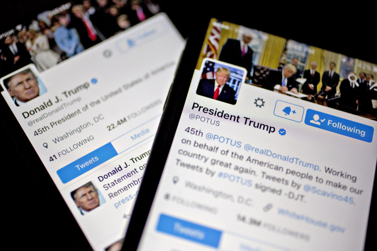 Image: Trump's Twitter Accounts
