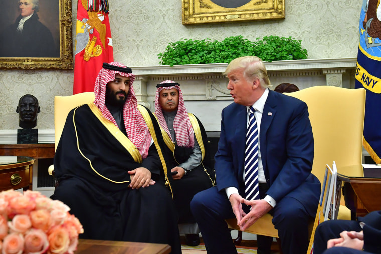 Image: President Trump Hosts Crown Prince Mohammad Bin Salman Of Saudi Arabia To White House