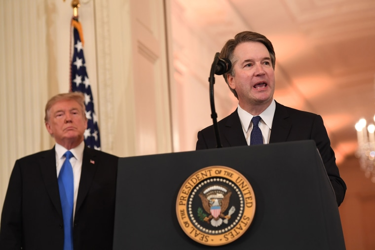 Kavanaugh isn't popular with Middle America