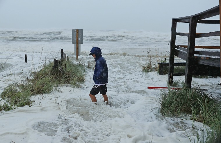 Image: Hurricane Michael Slams Into Florida's Panhandle Region