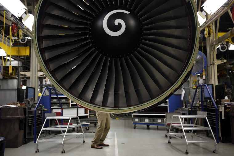 Engine Manufacturing At General Electric Aviation Ahead Of U.S. Manufacturing Data