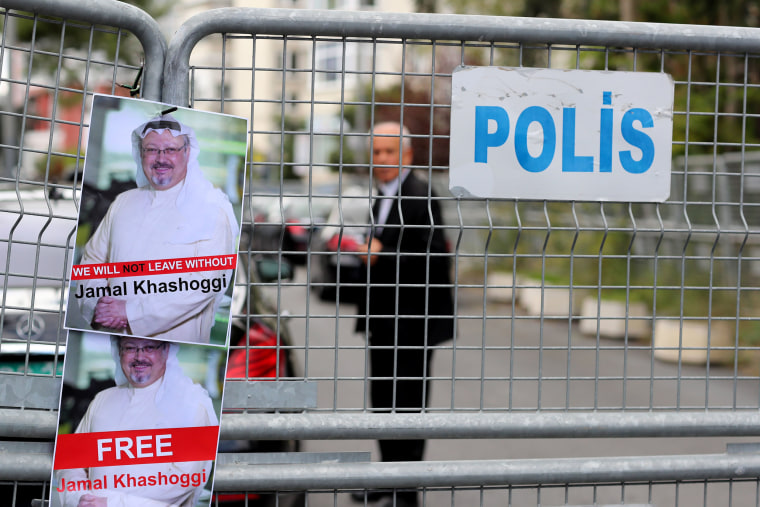 Image: Missing Saudi journalist Jamal Khashoggi