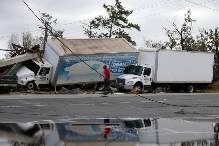 Image: Panama City Hurricane Damage