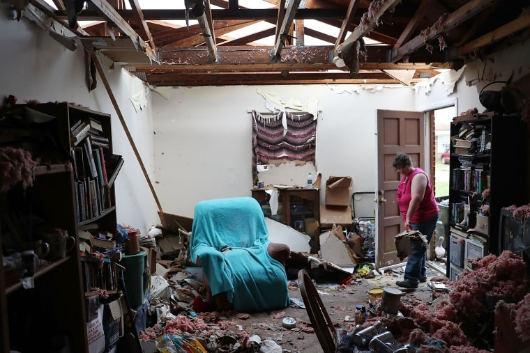 Image: Florida  Panhandle Faces Major Destruction  After Hurricane Michael Hits As Category 4 Storm