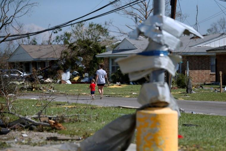 Image: Hurricane Michael Callaway Florida