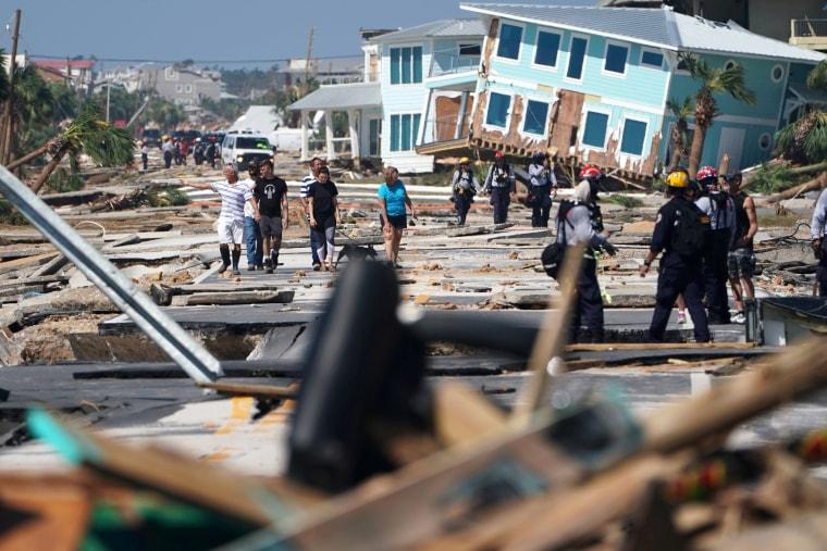 Image: Hurricane Michael Mexico Beach