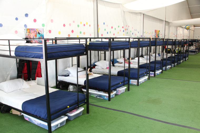 The temporary shelter established at Tornillo has 3800 beds for unaccompanied alien children, 1400 of those beds are on reserve status.