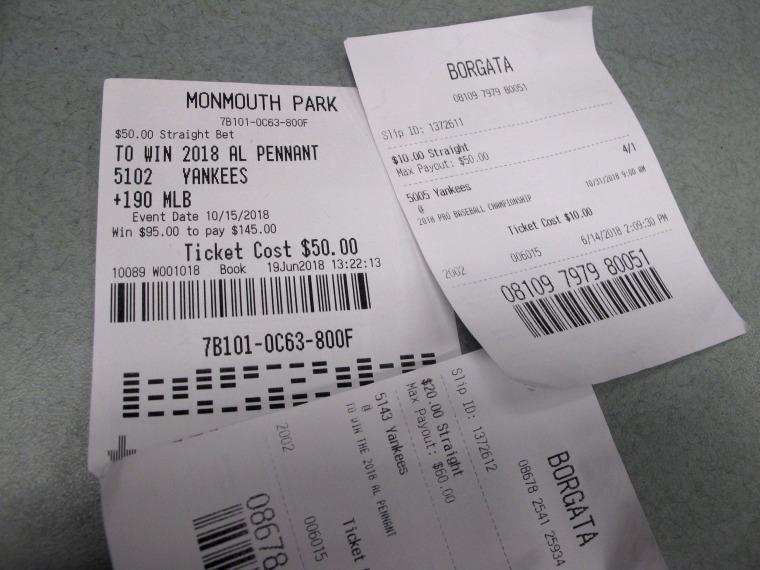 Image: Losing Betting Slips