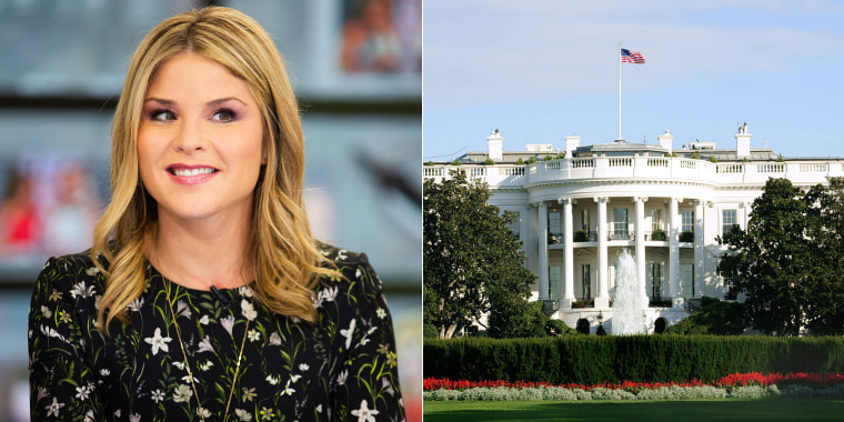 Jenna Bush Hager and The White House