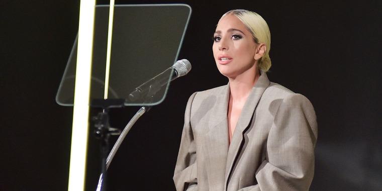Lady Gaga Elle Women in Hollywood