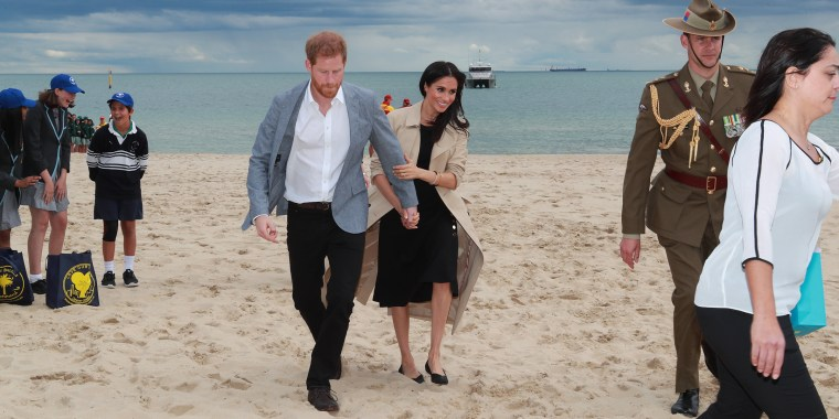 Image: The Duke And Duchess Of Sussex Visit Australia - Day 3