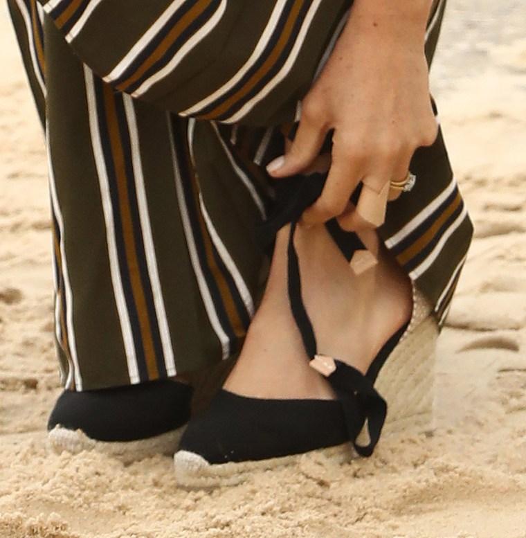 Former Meghan Markle Wears Maxi Dress On Bondi Beach In