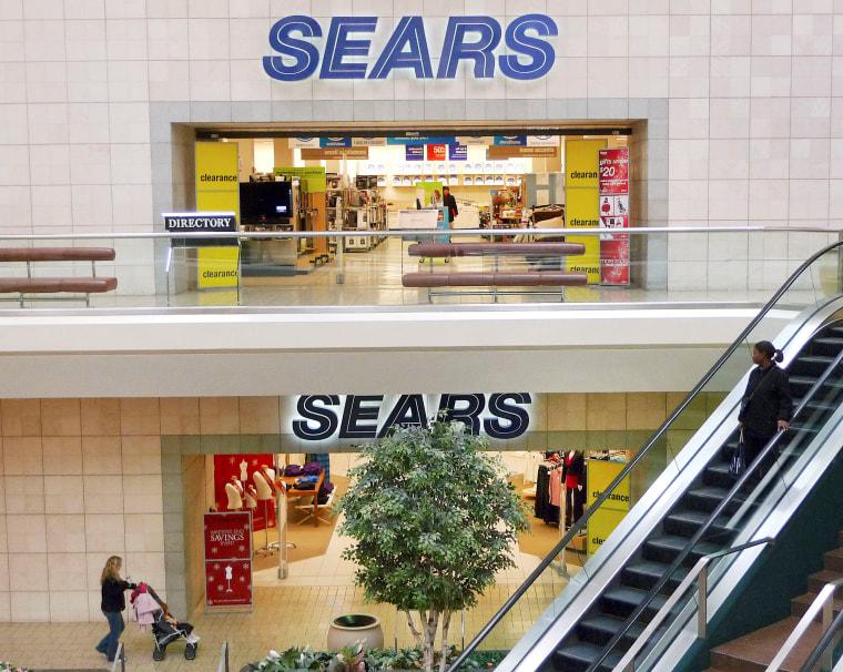 The Sears department store at Fair Oaks Mall in Fairfax, Virginia, on Jan. 7, 2010.