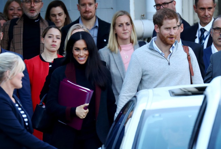 Image: The Duke And Duchess Of Sussex Arrive In Australia