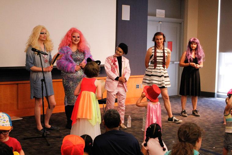 Image: Drag Family Storytime