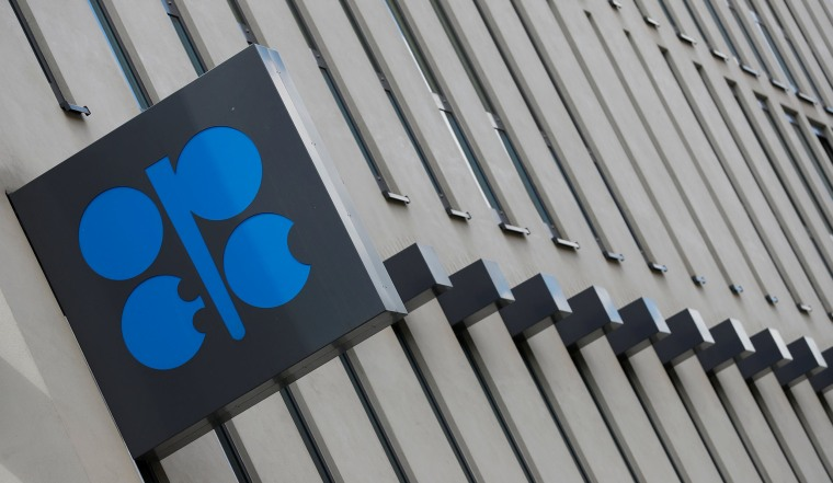 Image: FILE PHOTO: The OPEC logo is seen at OPEC's headquarters in Vienna