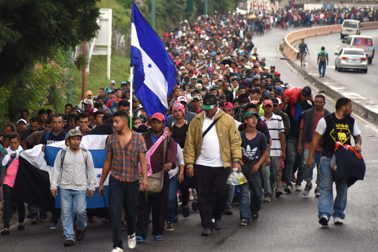 Image result for migrant caravan