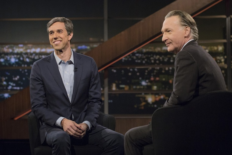 Beto O'Rourke on Real Talk with Bill Maher pm March 16, 20 18.