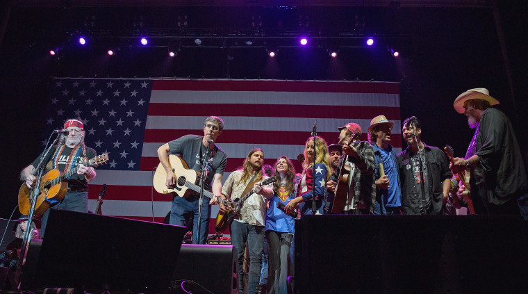 Willie Nelson's 4th Of July Picnic At Austin360 Amphitheater