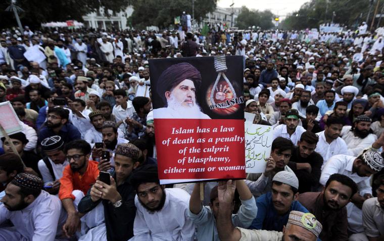 Pakistani Christian woman convicted of blasphemy awaits ...