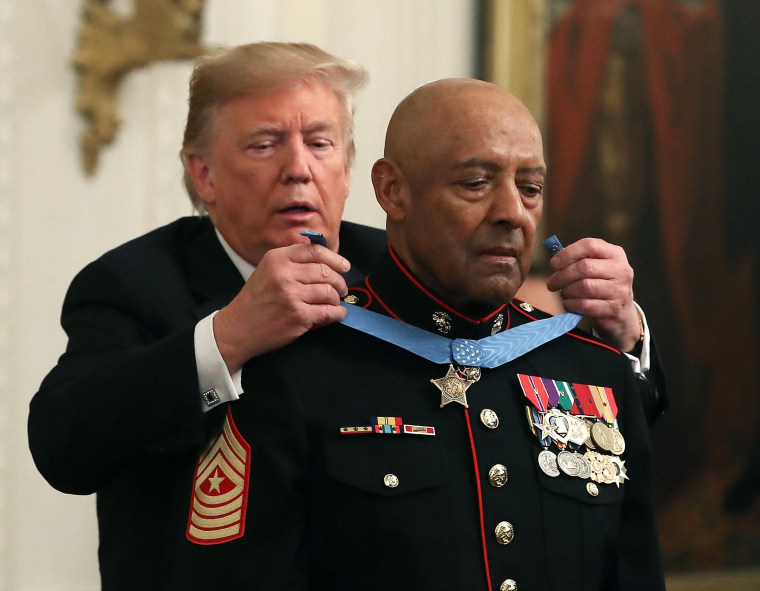 Image: Marine Sgt Maj John Canley Awarded Medal Of Honor For Conspicuous Gallantry In Vietnam