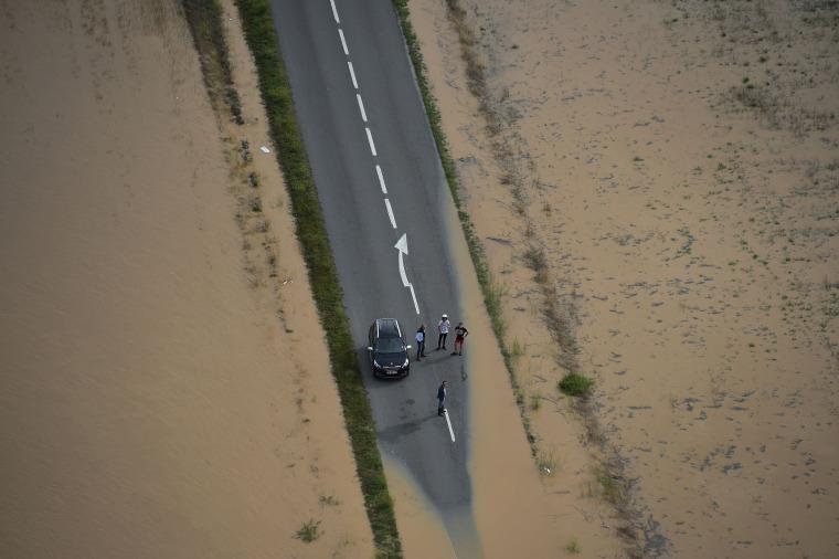 Image: TOPSHOT-FRANCE-WEATHER-FLOOD