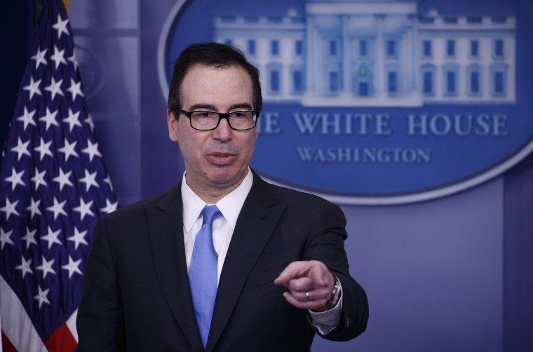 Image: US Treasury Secretary Steven Mnuchin pulled out of investment conference in Saudi Arabia