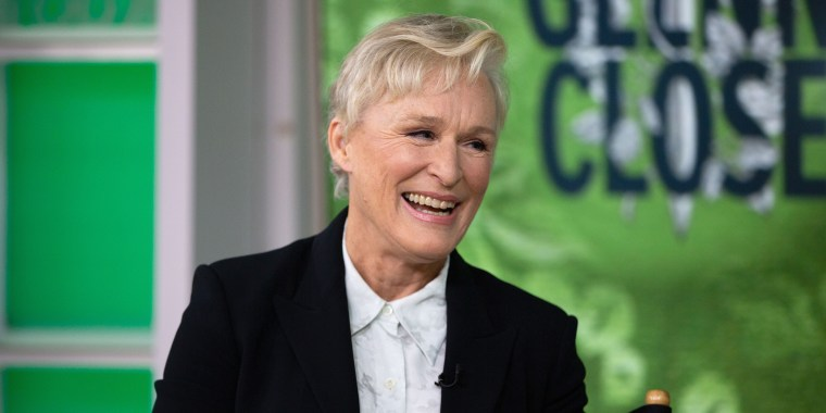"""Glenn Close, along with her adorable pup, joins Kathie Lee Gifford, Hoda Kotb and guest co-host John Cena to talk about her role in the off-Broadway production of """"Mother of the Maid."""""""