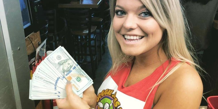 A man ordered two waters at an NC hot dog eatery. Then he left a $10,000 cash tip.