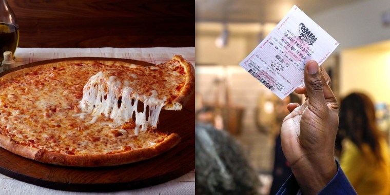 Villa Italian Kitchen pizzeria trading losing lottery tickets for free pizza