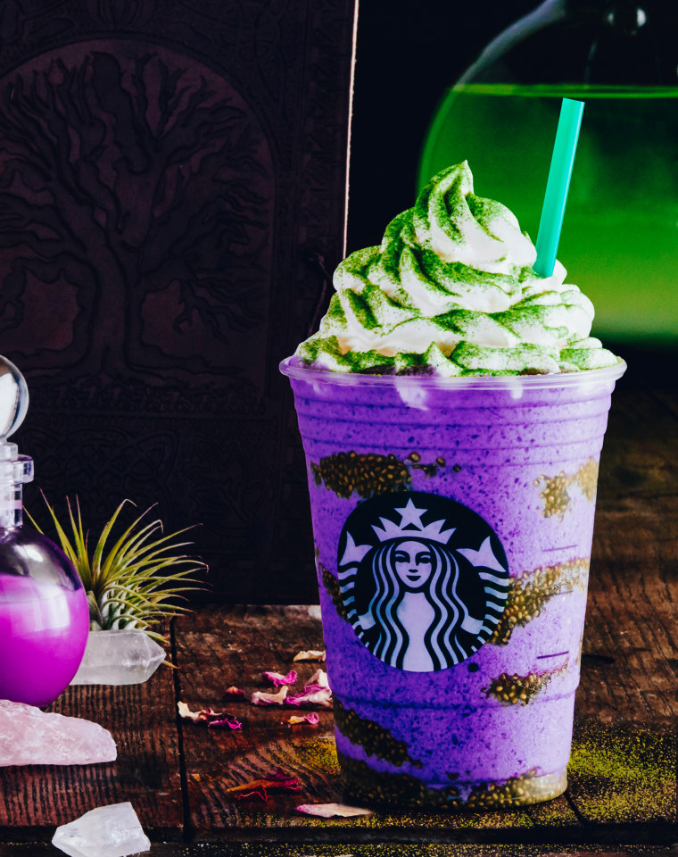 Starbucks new Witch's Brew Frappuccino