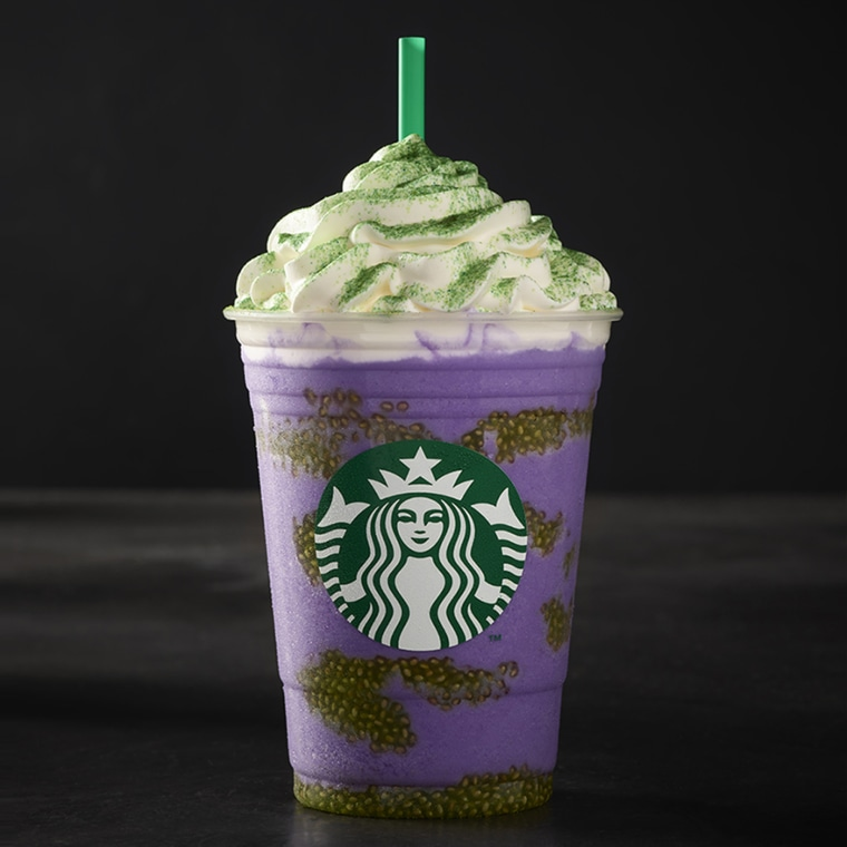 Starbucks new Witch's Brew Frappuccino