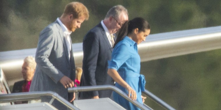 Prince Harry and Meghan Markle's air scare