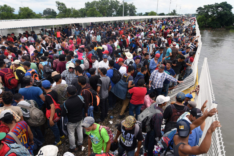 IMAGE: Migrants in Mexico