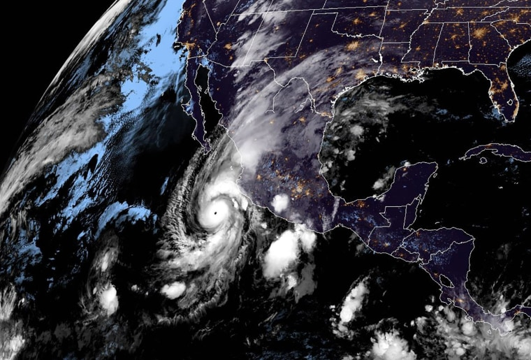 Image: Hurricane Willa off Mexico's Pacific coast.