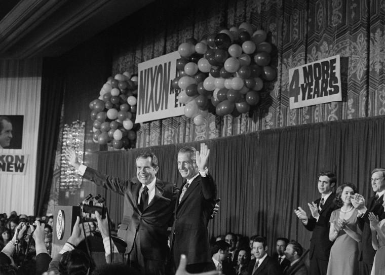 Image; Victorious Republican Ticket Nixon/Agnew