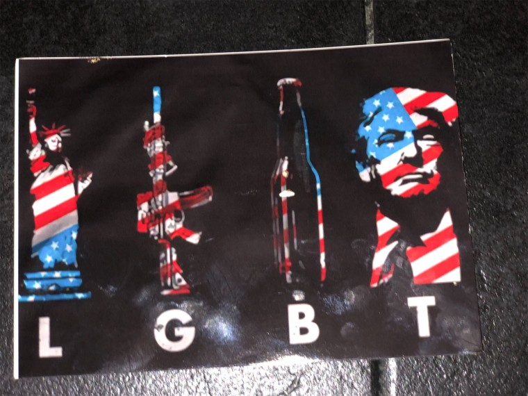 Image: antigay LGBT flyers being sent to gay bars in Nashville