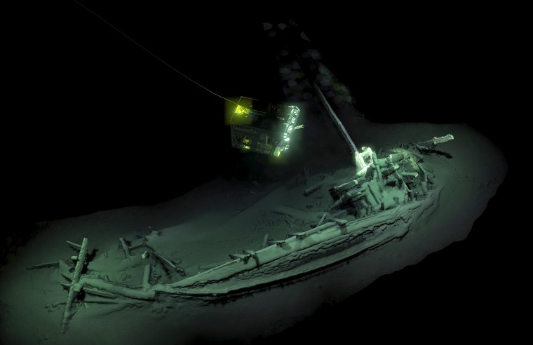 Image: Oldest intact shipwreck discovered