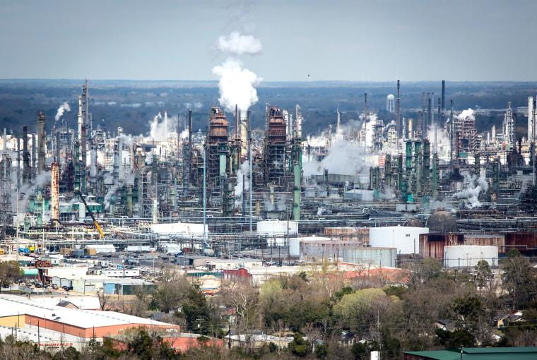 Exxon Refinery in Baton Rouge